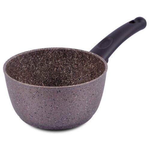 Ковш TimA Art Granit 1,2 л, коричневый мрамор ковш 1 л tima комфорт tag 14k