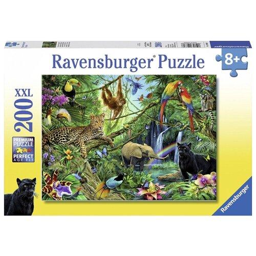 Купить Пазл Ravensburger XXL Джунгли (12660), 200 дет., Пазлы