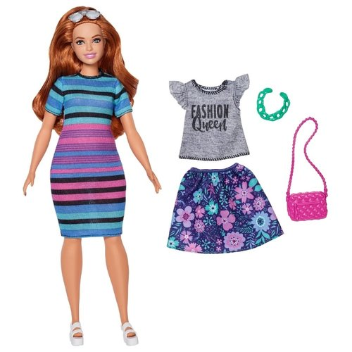 Кукла Barbie с дополнительным комплектом одежды, FJF69