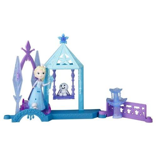 Купить Hasbro Disney Frozen Холодное сердце Домик E0096, голубой, Кукольные домики