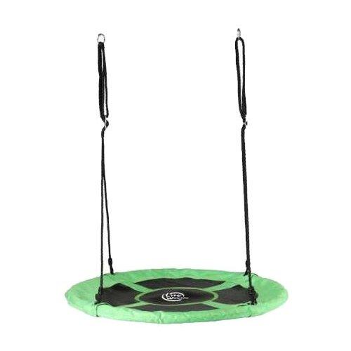 Lite Weights Качели Гнездо 110 см черный/зеленый