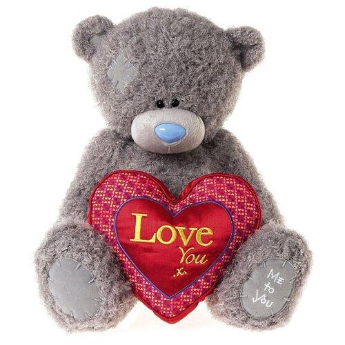 Мягкая игрушка Me to you Мишка Тедди с сердцем Love you x 34 см