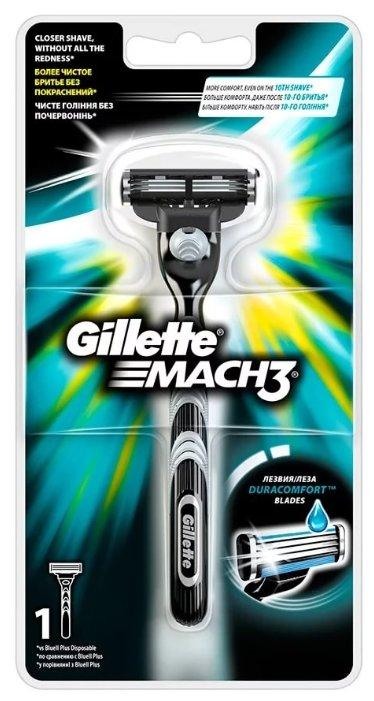 Gillette Мужская Бритва Mach3