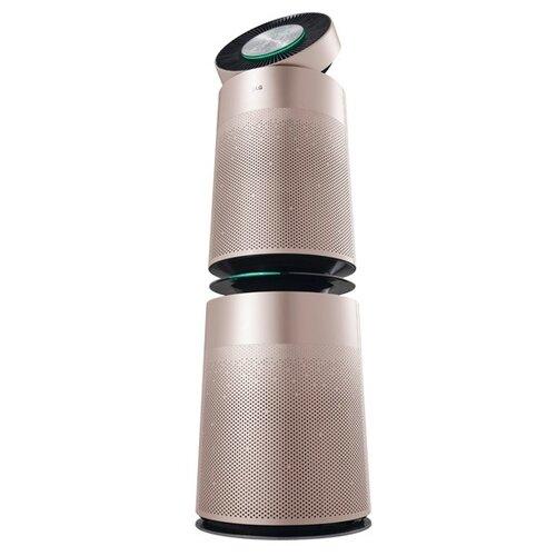 Очиститель воздуха LG AS95GDPV0 Puri Care, розовый/черный