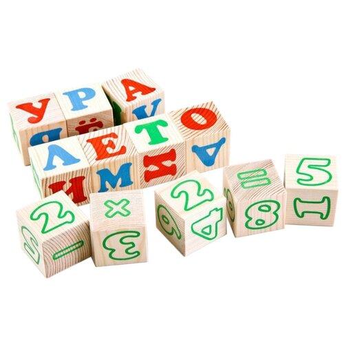 Кубики Томик Алфавит с цифрами 2222-2 кубики томик английский алфавит от 3 лет 12 шт 1111 2