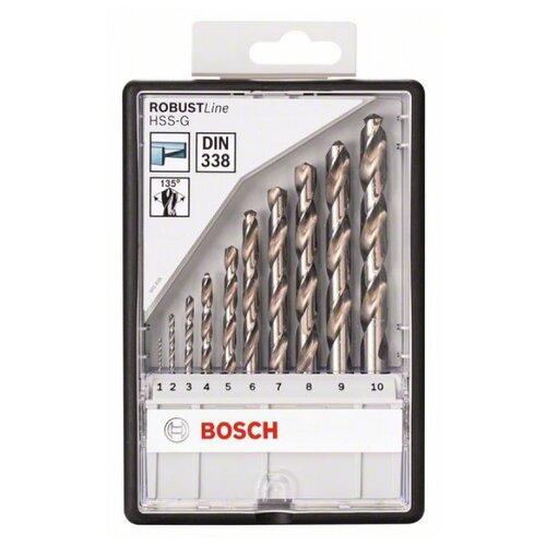 Набор сверл BOSCH Robust Line 2.607.010.535 набор сверл bosch robust line multi construction 2 607 010 521 4 шт