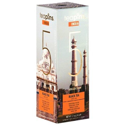 Чай черный Teapins India 5 tea collection ассорти, 50 гЧай<br>