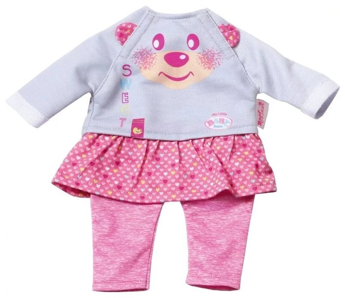 Zapf Creation Комплект одежды для куклы My Little Baby Born 823149