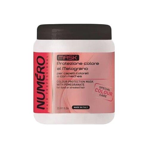 Купить Brelil Professional Numero Маска для волос для защиты цвета с экстрактом граната, 1000 мл