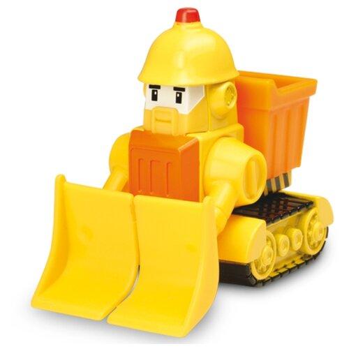 Купить Бульдозер Silverlit Робокар Поли Брунер (83165) 6 см желтый, Машинки и техника