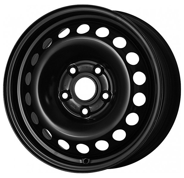 Колесный диск Magnetto Wheels 16012 6.5x16/5x114.3 D60.1 ET45 Black