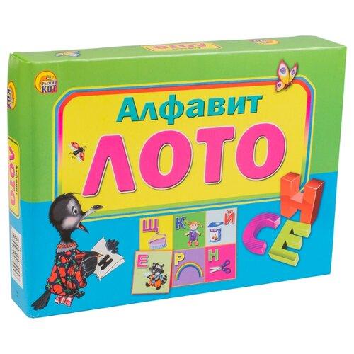 цена на Настольная игра Рыжий кот Лото Алфавит ИН-7445
