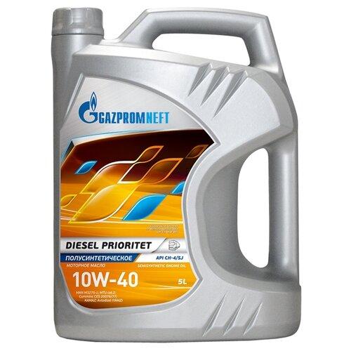 Моторное масло Газпромнефть Diesel Prioritet 10W-40 5 л