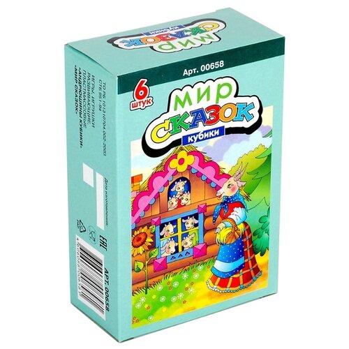Купить Кубики-пазлы Десятое королевство Мир сказок-5 00658, Детские кубики