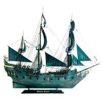 Сборная модель ZVEZDA Корабль Джека Воробья Черная жемчужина (9037) 1:72
