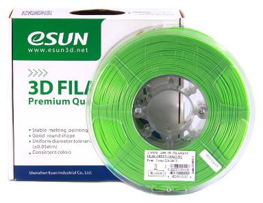 ABS пруток ESUN 1.75 мм светло-зеленый