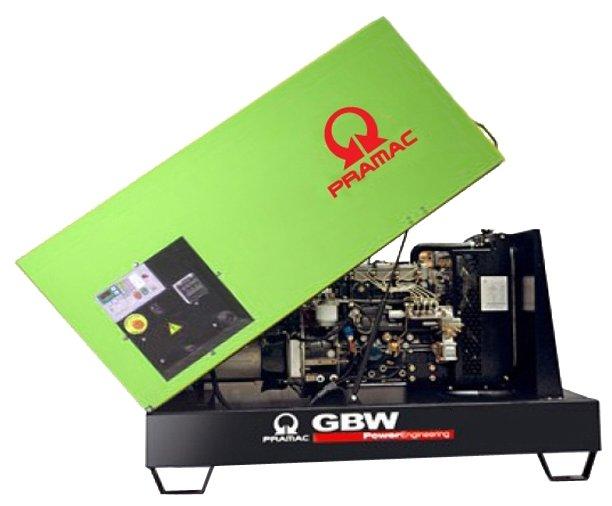 Дизельная электростанция Pramac GBW 10 Y 230V в кожухе с АВР