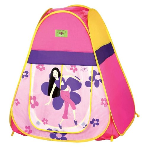 Палатка ELEGANT Танец цветов 8131/3026 розовый/фиолетовый, Игровые домики и палатки  - купить со скидкой