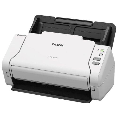 Сканер Brother ADS-2200 белый/черный