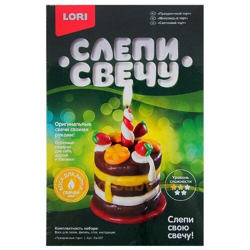 Фото - LORI Слепи свечу Праздничный торт Св-007 lori слепи свечу божья коровка