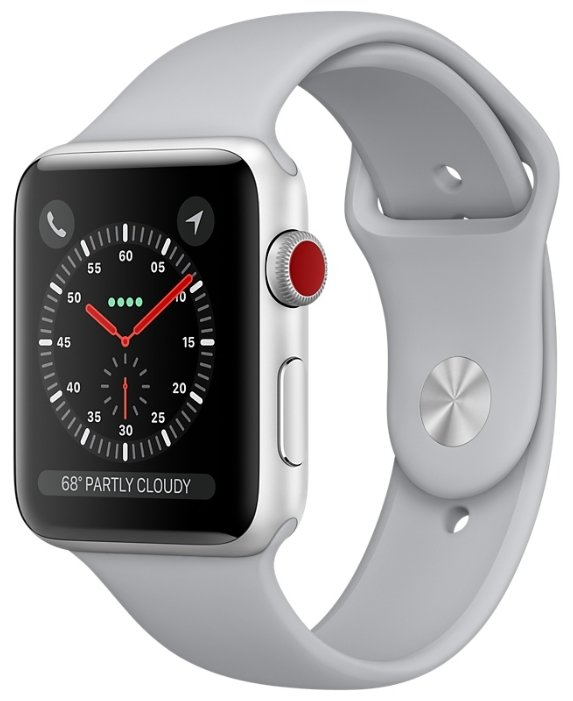 Apple Часы Apple Watch Series 3 Cellular 42mm Aluminum Case with Sport Band
