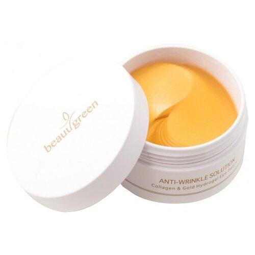 Купить Beauugreen Гидрогелевые патчи для глаз с коллагеном и коллоидным золотом Anti-Wrinkle Solution Collagen & Gold Hydrogel Eye Patch (60 шт.)