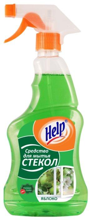 Спрей Help Яблоко для мытья стекол