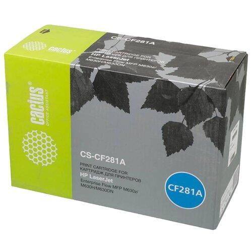 Купить Картридж cactus CS-CF281A, совместимый