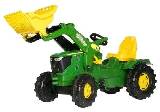 Веломобиль Rolly Toys Farmtrac John Deere 6210R