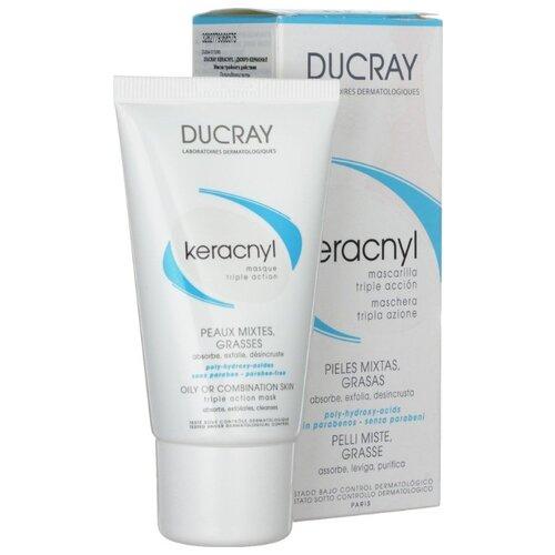 Ducray Keracnyl Маска тройного действия Masque triple action, 40 мл ducray неоптид лосьон от выпадения волос для мужчин 100 мл