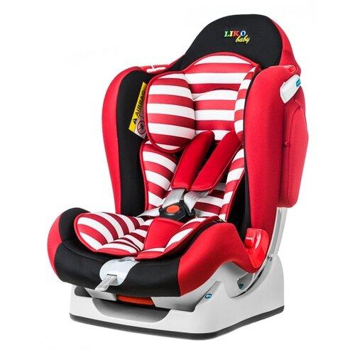 Автокресло группа 0/1/2 (до 25 кг) Liko Baby LB-510, красный/черный группа 1 2 3 от 9 до 36 кг liko baby lb 513 a