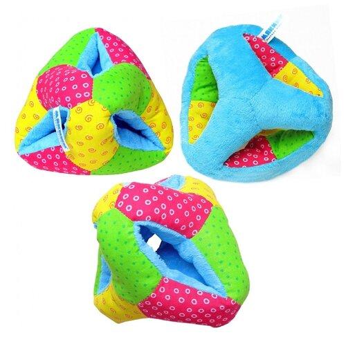 Купить Погремушка Мякиши Выкрутасы 284 зеленый/голубой/розовый, Погремушки и прорезыватели