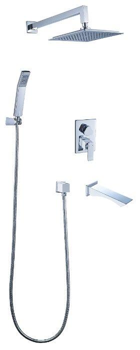 Верхний душ встраиваемый Lemark Contest LM5822CW
