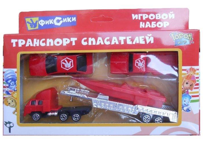 Набор техники Город Игр Фиксики - Транспорт спасателей S (GI-6341)