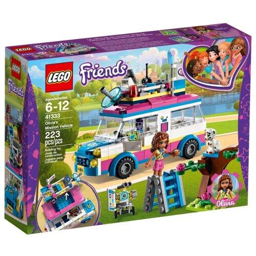 Купить Конструктор LEGO Friends 41333 Оливия – спасательница, Конструкторы