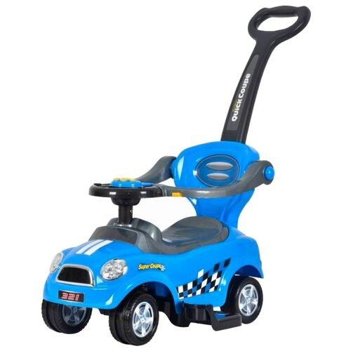 Каталка-толокар Barty Quick Coupe Super Coupe (Z321) со звуковыми эффектами синий каталка толокар barty mercedes benz z332 со звуковыми эффектами красный