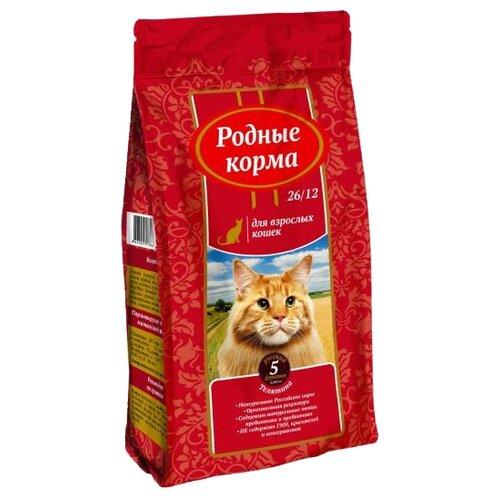 Сухой корм для кошек Родные корма с телятиной 2.045 кг