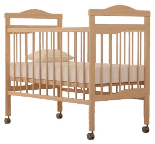 Кроватка Промтекс Колибри Волна 1 (колесо/качалка)