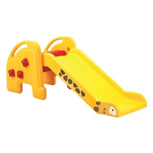 Купить Горка Edu-play KU-1502 Жираф желтый/красный/черный, Игровые и спортивные комплексы и горки