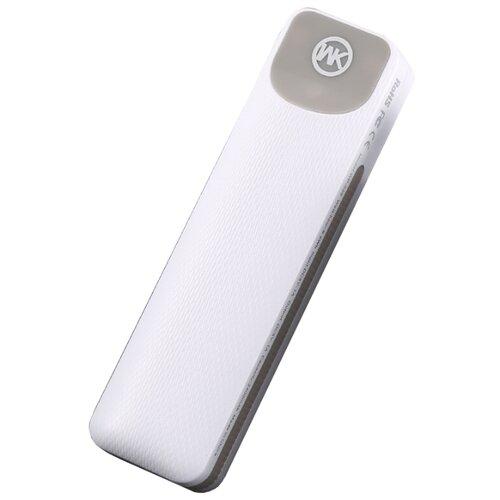 Аккумулятор WK WP-025 Meng Nasi 2500 mAh белый  - купить со скидкой