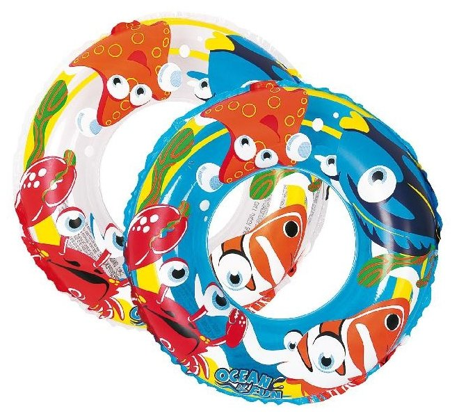 Круг надувной Jilong Ocean Fun Swim Ring JL047224NPF