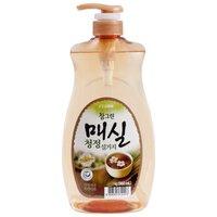 Lion Жидкость для мытья посуды Chamgreen Японский абрикос 0.96 л с дозатором