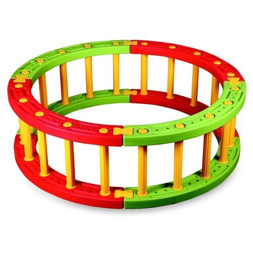 Манеж-ширма King Kids RG 6030 желтый/зеленый/красный столик king kids сэнди с системой хранения мелочей цвет зеленый kk km 1200 g
