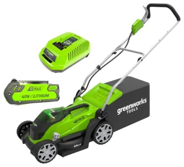 Газонокосилка greenworks 2501907ua G40LM35K2X
