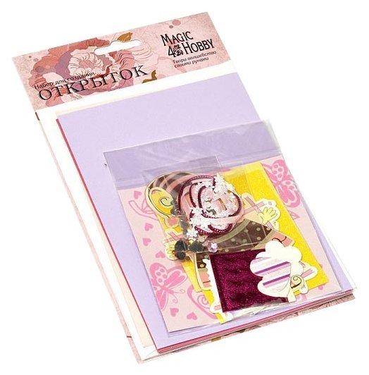 Набор для создания открыток Magic4Hobby 11,5x17 см, 3 шт, MG.DIY-3 №6