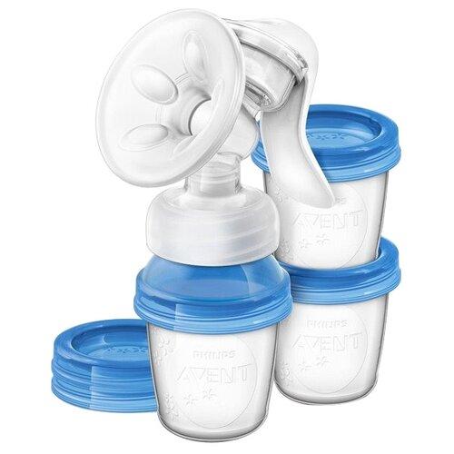 Купить Ручной молокоотсос Philips AVENT Natural SCF330/13, Молокоотсосы
