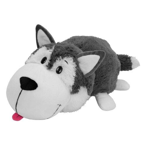 Мягкая игрушка 1 TOY Вывернушка Хаски-Полярный медведь 20 смМягкие игрушки<br>