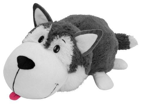 Мягкая игрушка 1 TOY Вывернушка Хаски-Полярный медведь 20 см