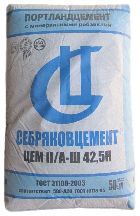 Цемент СЕБРЯКОВЦЕМЕНТ ЦЕМ II/A-Ш 42.5Н М500