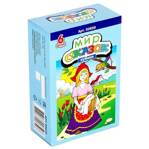 Купить Кубики-пазлы Десятое королевство Мир сказок-6 00659, Детские кубики